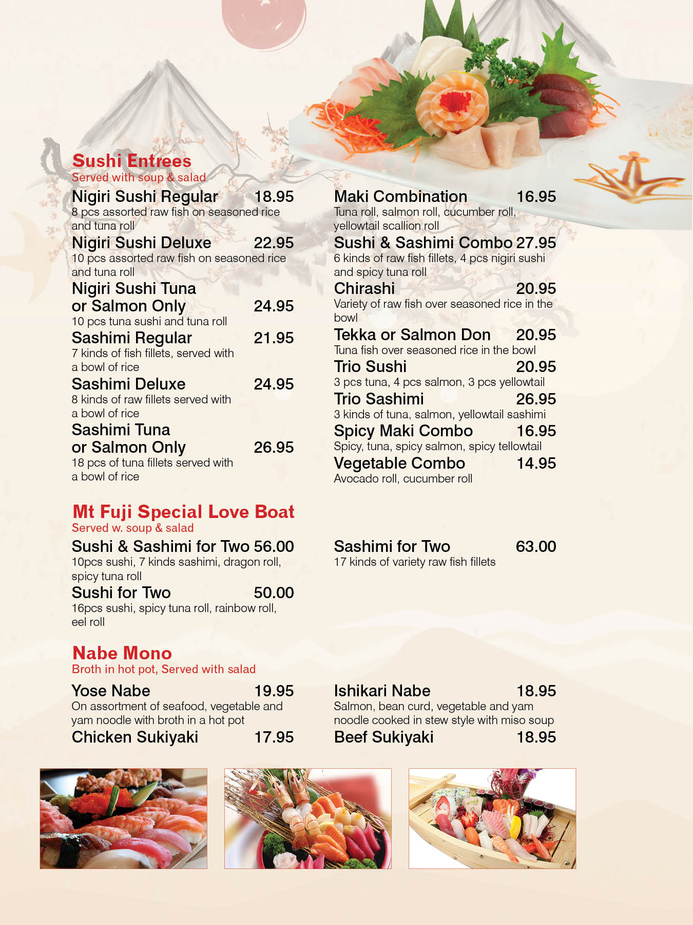 Mt. Fuji Sushi Japanese Restaurant | 166 maplewood Ave. Maplewood ...